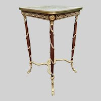 A side table in French Louis xvi style. Worldwide free shipping