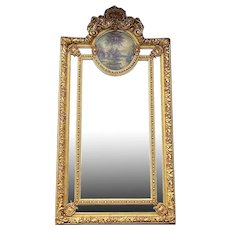 Baroque/Rococo Style Mirror Gold Frame. New