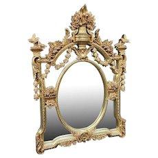 Beautiful Wall Mirror in Italian Baroque Style.
