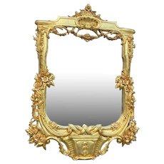 French Louis xvi style mirror. Worldwide shipping