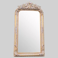 French Louis XVI Style Mirror.