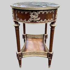 Amazing Side Table in French Louis XVI Style