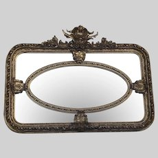 French Louis XVI Style Wall Mirror