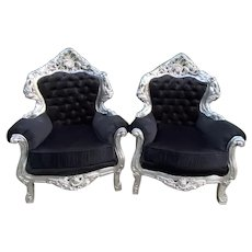 1940s Vintage Italian Baroque Style Chairs