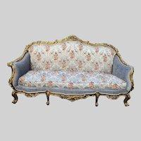 Beautiful Antique French Sofa / Loveseat / Settee 1880 Louis XVI