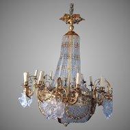 Old Louis XVI style gorgeous chandelier