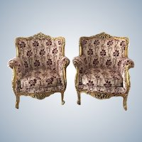 19th Century Two Baroque Chairs