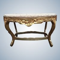 Louis XVI stylish bed bench
