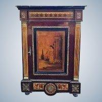 Very nice commode, Napoleon III with Vernis Martin