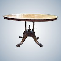 18th century English center table