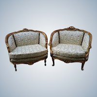 pair of two marquizas in Louis XVI style