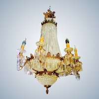 gorgeous louis xvi style chandelier from France