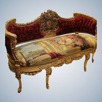 Deluxe Louis xvi sofa from 19th century