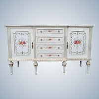 Louis xvi dresser, handmade painted and decorated