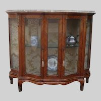 French vitrine from 19th century