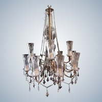 Special chandelier in Louis xvi style