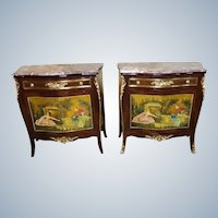 Stunning commodes in Louis xvi style
