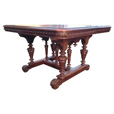 Baroque dining room table for 8 person or more