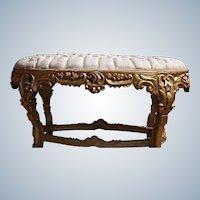 Stylish bed bench