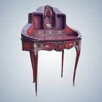 French secretaire desk made in Louis xvi style