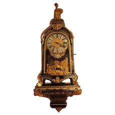 Original French cartel boulle table clock - free shipping