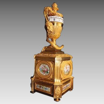 France Cercle Tournant Table Clock/Pendulum - Free Worlwide Shipping
