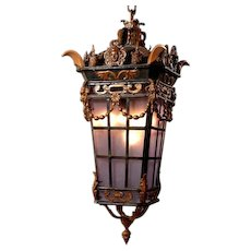 Beautiful Louis XVIs style Lantern