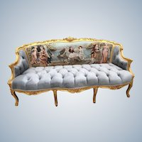 Stunning French Louis XVI Sofa/Settee;FREE SHIPPING within USA