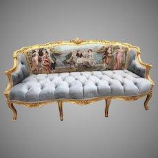 Stunning French Louis XVI Sofa/Settee;FREE SHIPPING within USA