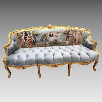 Stunning French Louis XVI Sofa/Settee