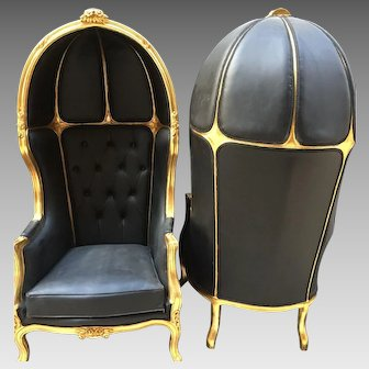 Pair of 2 Louis XVI Balloon Chairs