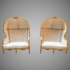 One Beautiful French Louis XVI Balloon Chair;FREE SHIPPING within USA
