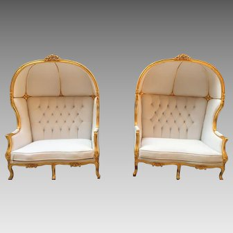 One Beautiful French Louis XVI Balloon Chair