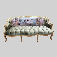 French Louis XVI Sofa/ Settee/couch.FREE SHIPPING within USA
