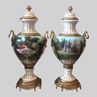 Two Stunning Louis XVI Vases