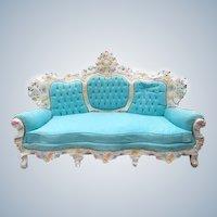 Beautiful Italian Baroque Sofa Venetian Style