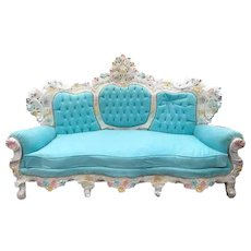 Beautiful Italian Baroque Sofa Venetian Style