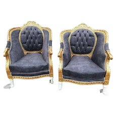 Two (pair) Beautiful Louis XVI French Chairs