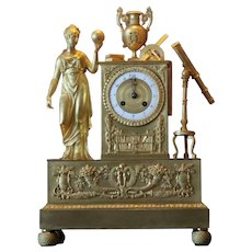 Antique French Table/Mantle Clock from the 19th Century - Free Shipping