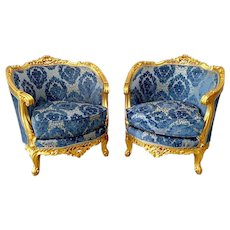A Pair of French Louis XVI Chairs