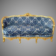 French Louis XVI Settee/Sofa/Couch