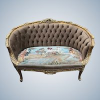 Louis XVI Style French Sofa/Settee/Couch