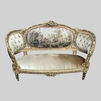 French Louis XVI Style Sofa/Couch/Settee