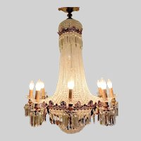Beautiful Handmade French Louis XVI Chandelier