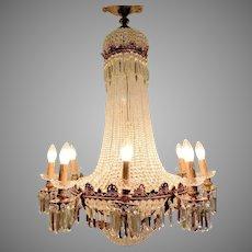 Beautiful Handmade French Louis XVI Chandelier