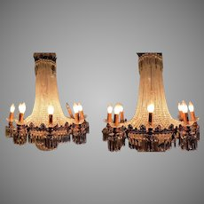 Pair (2) of Beautiful French Louis XVI Chandeliers