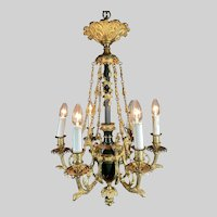 French Louis XVI Chandelier from 1880.