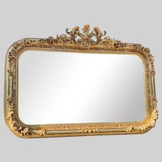 French Wall Mirror in Louis XV Style - Free Worldwide Shipping
