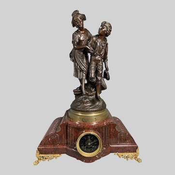 Large French table/mantle clock. 19th century