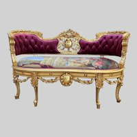 Amazing Deluxe Sofa/Setee/Couch  In French Louis XVI style. Free worldwide shipping